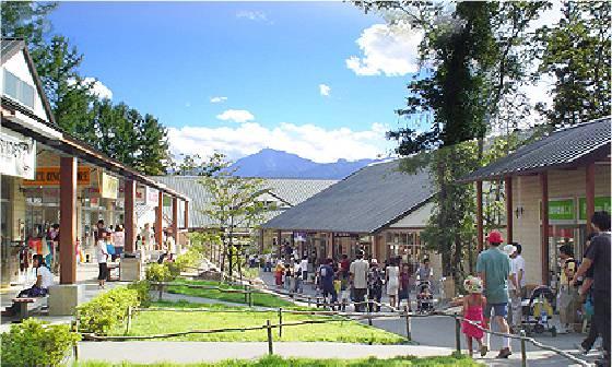 八ヶ岳リゾートアウトレット