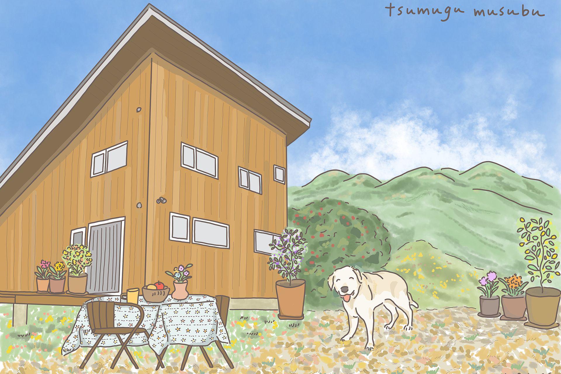 一棟独立 一組限定の犬と宿泊できるホテル